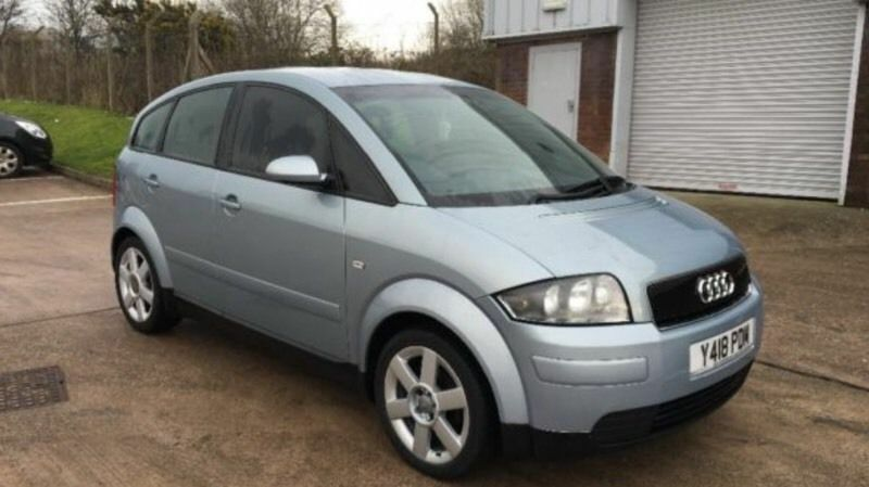 2001 audi a2 1 4 se 5dr y reg hatchback nice little car. Black Bedroom Furniture Sets. Home Design Ideas