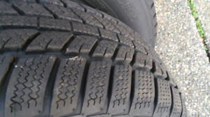 Set of used  4 Winter Tires for Sale!