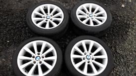 "17"" BMW 4 SERIES ALLOY WHEELS GENUINE"