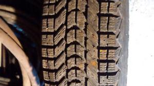 pneus hiver/winter tires
