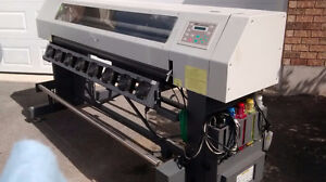"DGI VTII 62"" Solvent Printer"