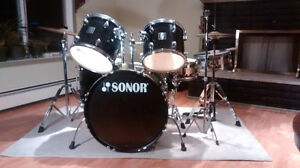Sonor 503 Series Drum Kit with Hardware and Cymbals