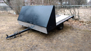 Atv or sled trailer.