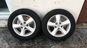 Mazda 3 Rims and Snow Tires