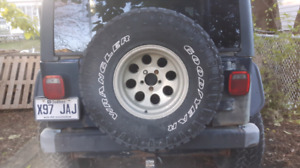 """5 mags off set Jeep TJ 15"""""""