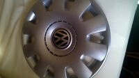 Two  New 15' Inch Wheel Covers for Sale(VW and one Universal)