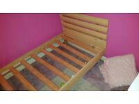 Single bed frame £10