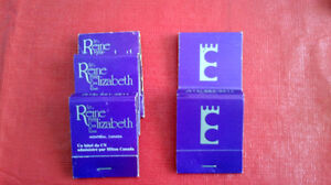 Matchbook Covers-The Queen Elizabeth Hotel, Montreal Kitchener / Waterloo Kitchener Area image 1
