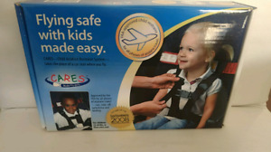 Cares harness for flight seats