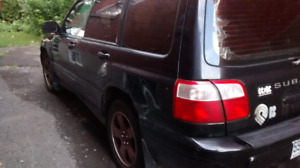 2002 Subaru Forester S Limited