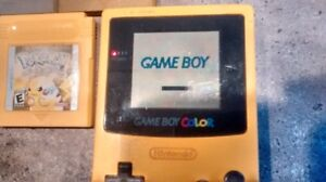 Game boy color avec jeux