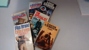 5 Action Adventure and Western Books - great for any collection!