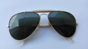 mint condition Ray Ban  aviator sunglasses made in usa