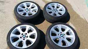 """BMW OEM Style 162 Staggered 18"""" Rims"""