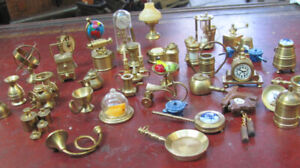 vintage brass miniatures from holland