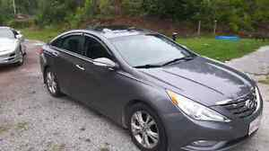 2011 sonata limited / extra warranty included