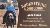 Bookkeeping & Consulting 28 years experience