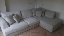 Next home corner settee and snuggle seat