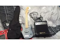 Elevation mini electric guitar with amp