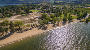 Beachfront lot for sale - Okanagan Lake