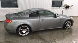 G35 coupe 2006 groupe sport