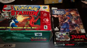 Pokémon Stadium & Iron Soldier (box)