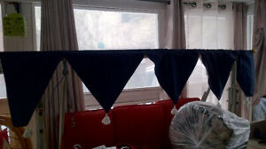 EUC curtain valance
