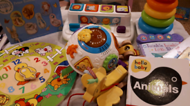 Bundle of baby and toddler educational sensory toys