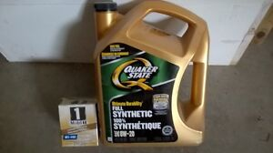 Engine Oil & Filters