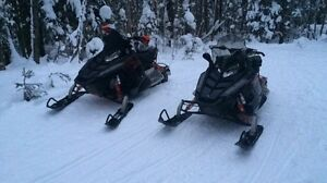 2 2010 Polaris Rush 600