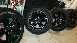 New 2018 dodge ram sport 5 bolt 20 inch rims and tires
