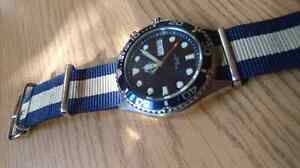 Orient Ray Watch in Blue