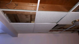Ceiling Tiles and Track