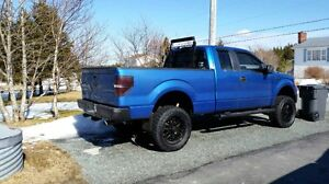 Lifted Ford F-150 XLT