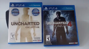 Uncharted 4 et Uncharted Collection