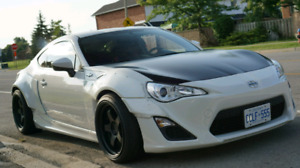 2015 Scion FRS 6sp Manual Rocket bunny kit