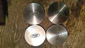 4 center caps roues mustang fox body