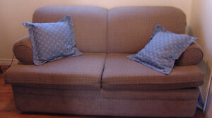 Sofa Bed -with cover  good Condition from  smoke-free home. Oakville / Halton Region Toronto (GTA) image 1