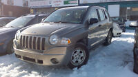 2007 Jeep Compass 5 Vitesse,4 cyl., 2.4 l Only 111,000km, 3,495$ City of Montréal Greater Montréal Preview