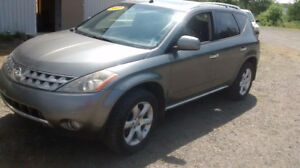 2007 NISSAN MURANO  LEATHER AND SUNROOF