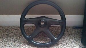 Aftermarket Momo steering wheel for sale