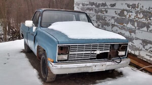 1984 Chevrolet C10 Custom Deluxe parts