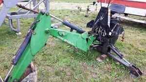 John deere model 47 backhoe attachment