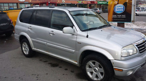 2002 suzuki xl7 trade for Suv
