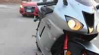 KAWASAKI ZX6R CLOSE TO BRAND NEW AS IT GETS, ONLY 8K KM