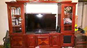 Wall unit TV stand Peterborough Peterborough Area image 1