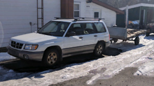 99 Subaru AWD auto with snows and summers