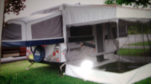 Truck and tent trailer for sale