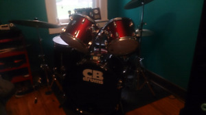 Cb drums 5 piece with cymbals
