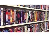 Vhs video collection
